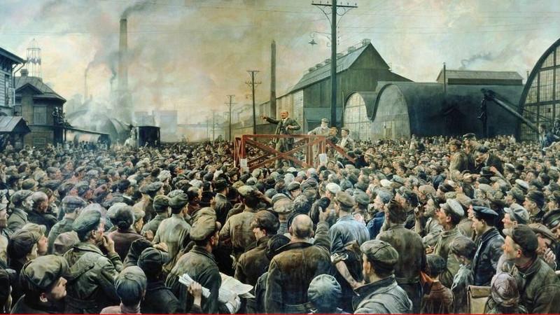 Le officine Putilov nella prima guerra mondiale e nella Rivoluzione